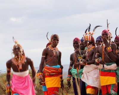 Conversation with a Masai Muran (Warrior):  Development and it's impact on tradition, Masai Mara, Kenya
