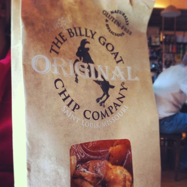 Billy Goat Chips at Winslows