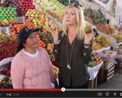 {VIDEO} Michaela's Map, Peruvian Kitchens: local ingredients & indigenous recipes