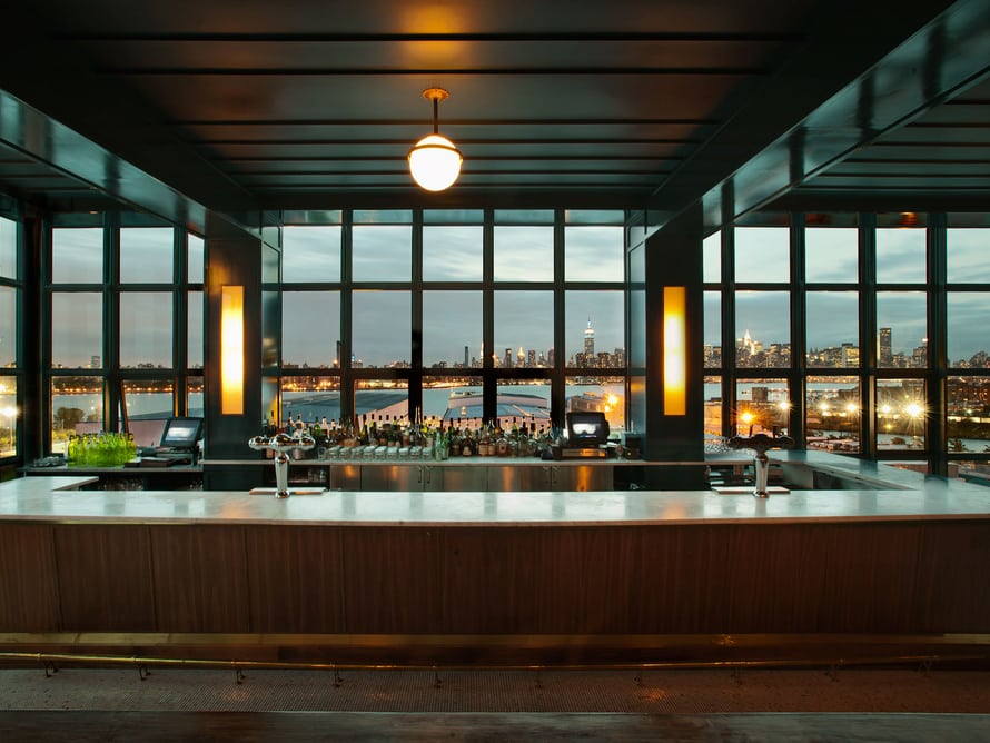 Bar & view at The Iides (Image via)