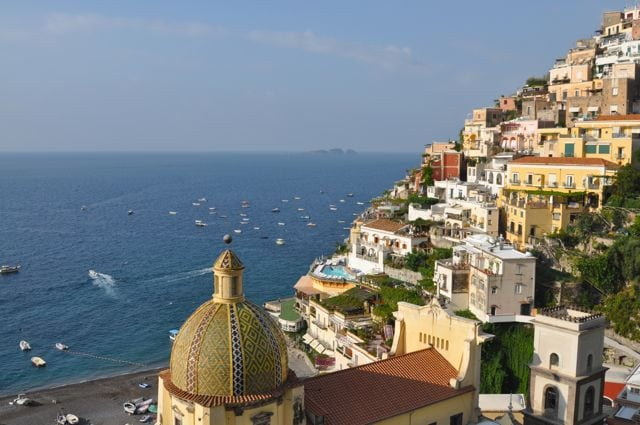 Positano from Le Sirenuse