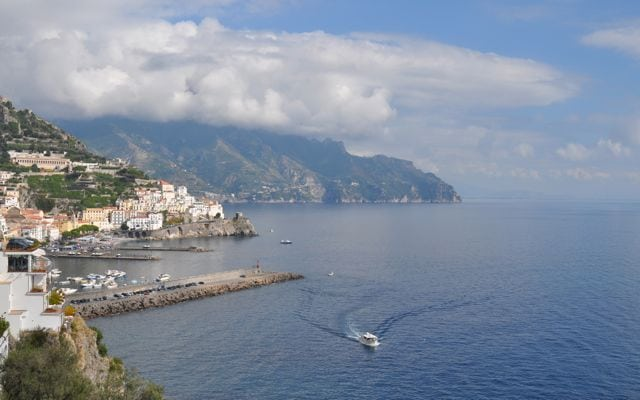 View of Amalfi Port
