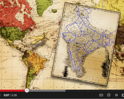 {VIDEO} Michaela's Map, India: Getting There