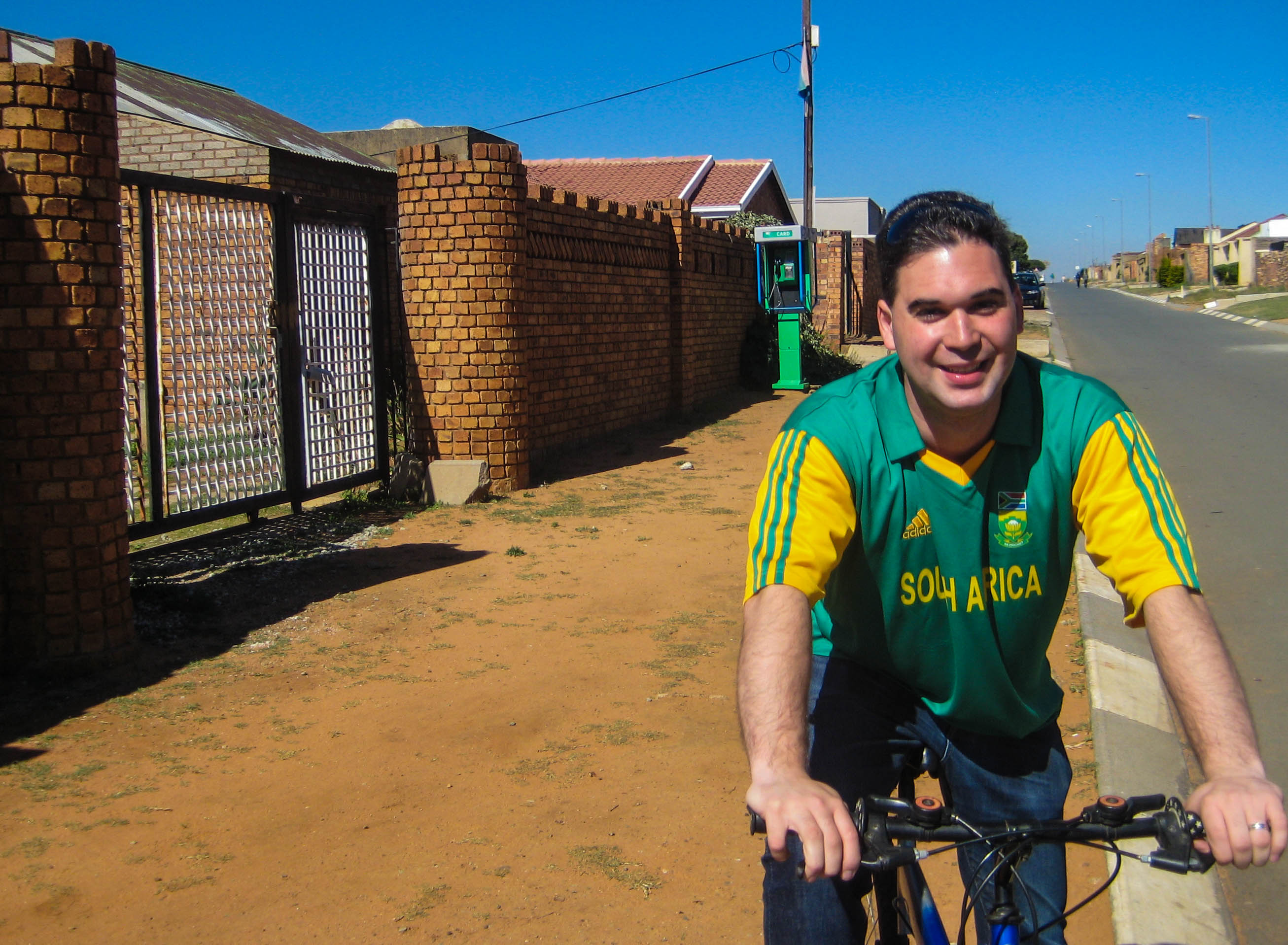 Exploring townships by bike can be an interesting way to cover more ground while still interacting with the locals