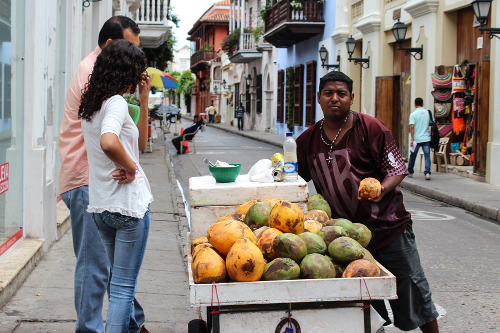 The Best Food Carts Of Cartagena Colombia