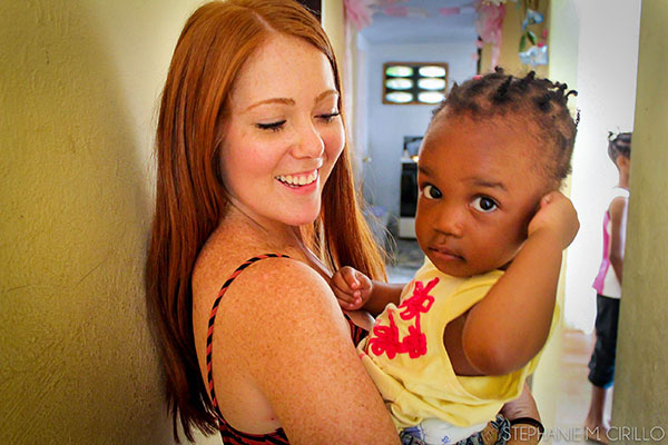 Haitian Orphanage- Paige and Gigi