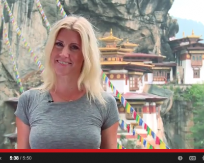 TRAVEL VIDEO Michaela's Map: Bhutan, the Land of Happiness