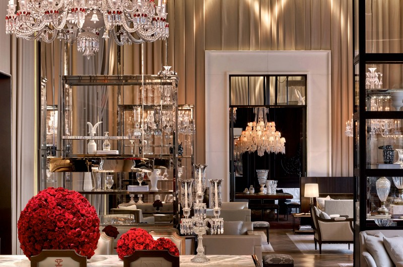 Mary gostelow 39 s hotel of the week baccarat hotel new york for Salon baccarat