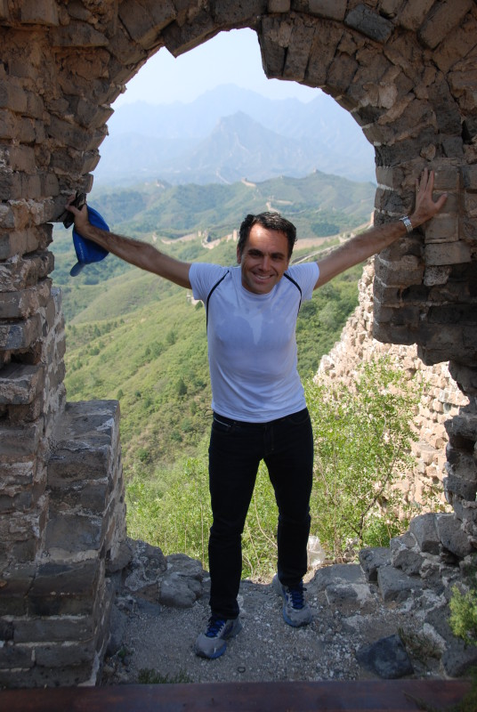Jack Ezon Great Wall China hiking
