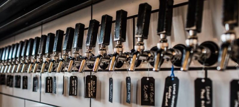 Butchertown Hall Nashville Tennessee taps beer brew