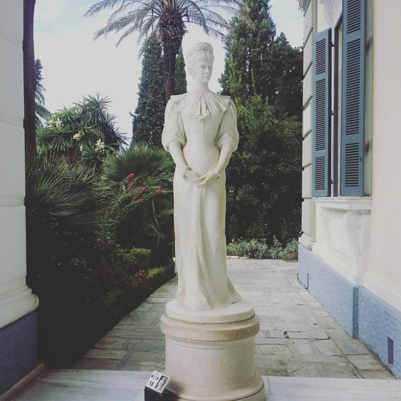 Sisi Statue Corfu Greece