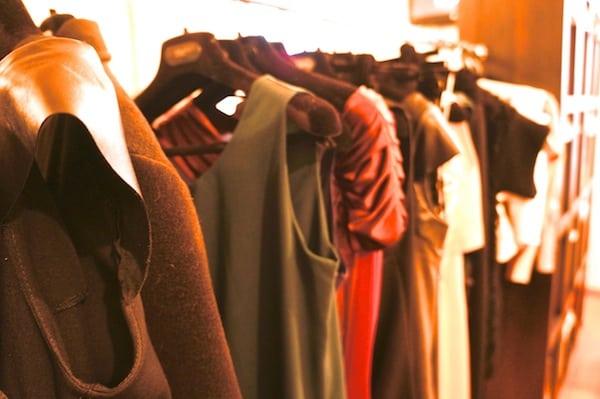Milan dress rack