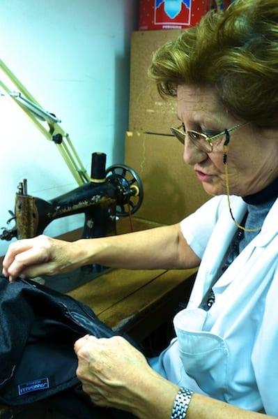Milan little lady sewing 2