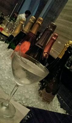 Gibson Park Hyatt Cocktail Champagne