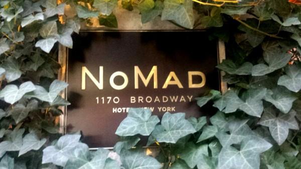 Nomad hotel Broadway New York City
