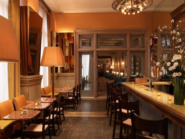 Soho Grand Hotel Bar NYC Cocktails Nightlife Manhattan