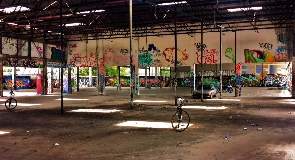 Abandoned pace around Wynwood - Bicycle ride will make you discover the real Wynwood