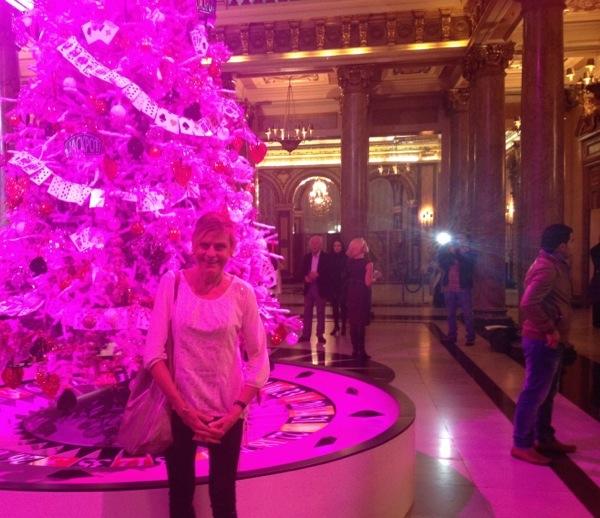 Monte-Carlo Monaco Casino Square hôtel hermitage pink tree