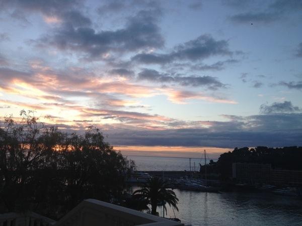 Monte-Carlo Monaco hôtel hermitage sunrise