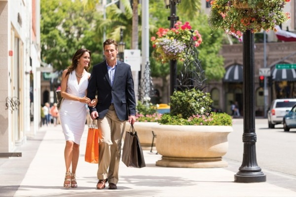 Stay here Pretty-Woman-style, for pampering and shopping.
