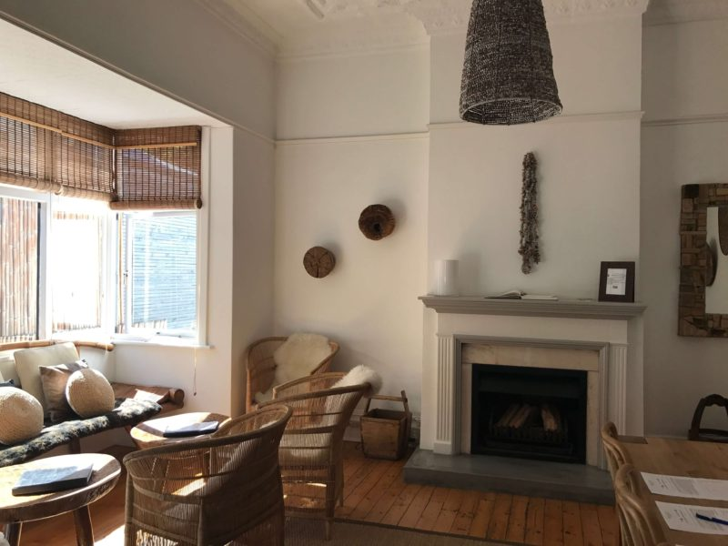 Antrim Villa Cape Town Africa lounge bamboo sustainable