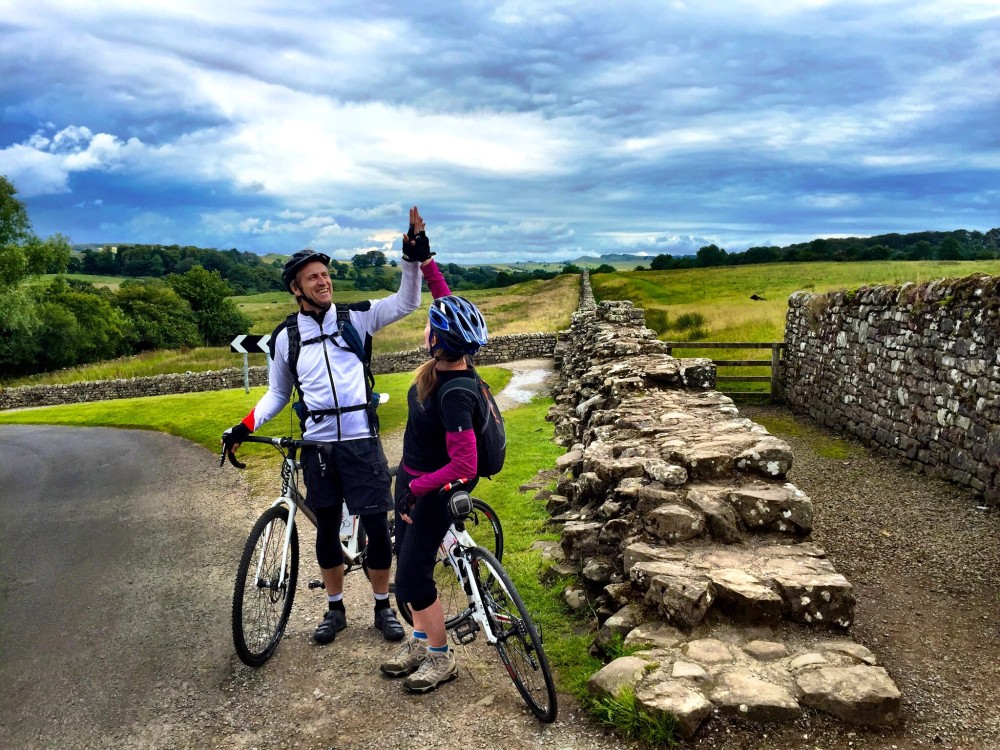 Biking Along Hadrian's Wall with Saddle Skedaddle in Northumberland Photography by Kristen Gill