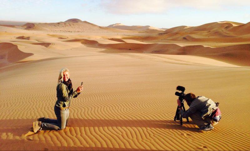 Michaela Guzy Africa camera
